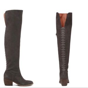 Lucky Brand Khlonn Over the Knee Boots 8M EUR 38